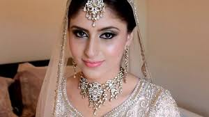 real indian and stani bridal makeup and hair by sadaf wan