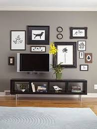 tv display ideas. Unique Display Gallery Wall That INCLUDES The TV So Itu0027s Not Just A Tv On Wall In Tv Display Ideas I