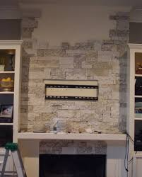 tips warm up space room ideas with airstone fireplace ha com