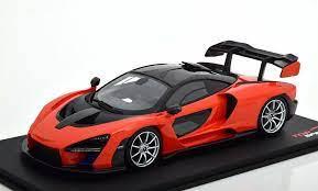 1 18 Scale 2018 Mclaren Senna Edition In Mira Orange By Top Speed Models Mclaren Mclaren