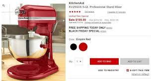 kitchenaid stand mixer black ebay