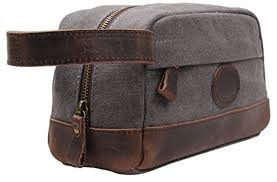 the metal zippers are industrial strength and plenty of women this carryall despite the fact that it s marketed as a mens travel toiletry bag