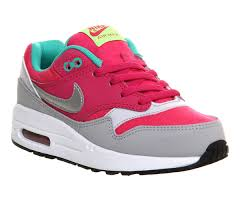 nike air max office. Nike Air Max 1 Ps Hot Pink Metallic Silver Mint - Unisex Office