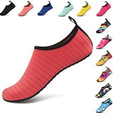 Pink - Water Shoes / Athletic: Clothing, Shoes & Jewelry - Amazon.com