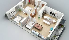 Terrific Two Bedroom Flat Floor Plan Two Flats .