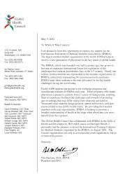 Letter Of Recommendation For Medical Students Examples