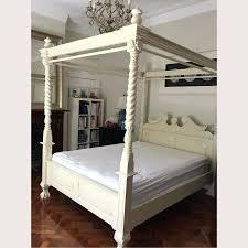 white four poster bed queen. Modren Four Four Poster Bed Queen Beds Awesome Size Wooden  White And  Inside White Four Poster Bed Queen R