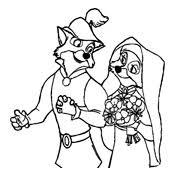 Kleurplaten Robin Hood Disney