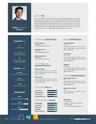 362 Free Resume Templates Word Psd Indesign Apple