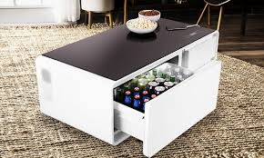 refrigerator table. sobro-coffee-table refrigerator table cool material