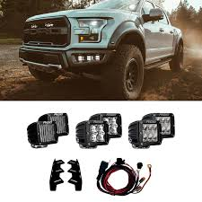 Rigid Raptor Lights 41610 Rigid Industries 41610 Led Fog Light Kit F 150 15 18
