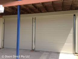 standard garage doors range in size from as low as you want to go all the way up to 5 metres high and from 1 metre wide up to 6 metres wide