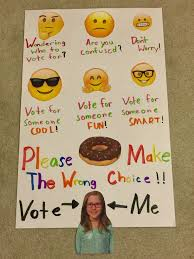 School Student Council Emoji Poster Make Easy No Frustration Its