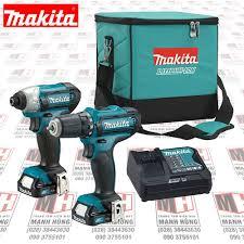 Bộ máy bắt vít dùng pin Makita CLX201S (10.8V)