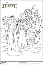 Small Picture Coloring Pages Kids Disney Movie Brave Coloring Pages Brave