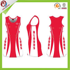 Hot Item Cutom Your Team Netball Dress Ladies Colorful Netball Jersey