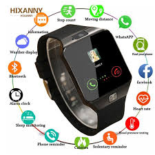 2019 <b>Bluetooth Smart Wrist Watch A1</b> GSM Phone For Android ...