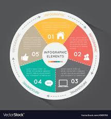 Circular Chart Infographic Elements Circle Chart