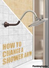 learn how to quickly and easily replace your shower arm without calling a plumber
