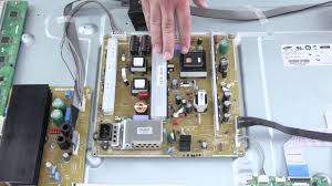 samsung tv power supply. plasma tv repair - no image, picture on screen how to replace power supply board youtube samsung tv