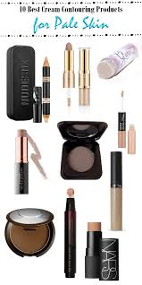 top 10 cream contouring s for pale skin