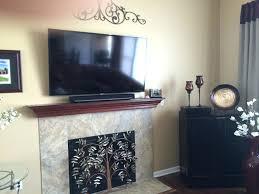 soundbar sonos flat panel tv mounted over a fireplace with model playbar kleinanzeigen vs bose