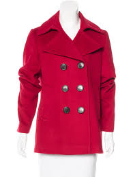 burberry wool cashmere blend peacoat women eq2c3tom