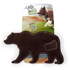 afp wild nature squirrel leather toy dogs toys sport chew toys