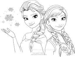 Disegno Da Colorare Di Frozen Il Regno Di Ghiaccio