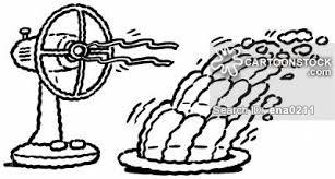 fan blowing clipart. fan blowing jelly. clipart