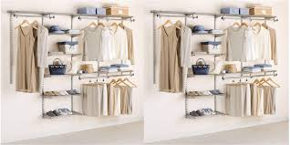 closet organizer kits new rubbermaid kit hits all time low 73 in 18
