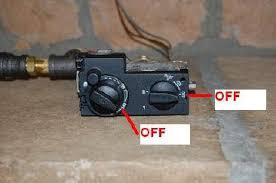 gas fireplace lighting pilot. turn gas valve off fireplace lighting pilot h