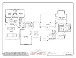 Open Floor Plans A Trend For Modern Living House Plan With 2 Open Floor Plans For One Story Homes