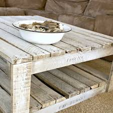 How To White Wash Whitewash A Pallet Table Raw Wood Shabby And Decorating