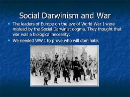 what should i write my college about social darwinism essay earlier thinkers also emphasized conflict as an inherent feature of social life