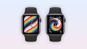 2021 'Pride Woven' Apple Watch face ...