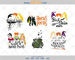 Hocus is armed with a standard magic spell (he's not yet a full wizard, after all), but he can find several potions that give him a temporary boost of magical energy. It S All A Bunch Of Hocus Pocus Svg Bat Png Sanderson Sisters Witches Svg Hocus Pocus Svg Halloween Svg Design Halloween Files Halloween Cut Files Svg Png Picsyco