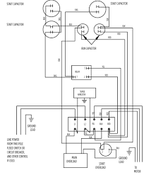 Wiring diagram for deep well pump 230 volt and inside