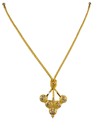 calcutta model gold necklace designs 1479 12