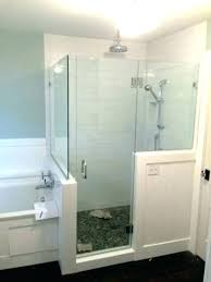 glass shower walls custom shower walls showers glass shower walls half wall door with two tile