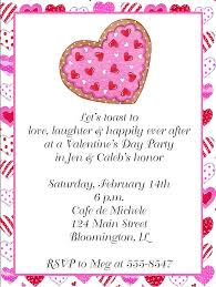 valentines party invitations hearts valentines day engagement party invitations