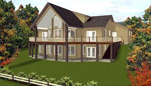 hillside home plans walkout basement luxury 59 4 bedroom ranch house plans with basement craftsman ranch