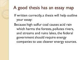 writing a good thesis sentence purpose of a thesis sentence  7 a good thesis has an essay
