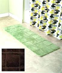 24x60 bath rug bathroom runner rugs back to best choices 24 x 60 cotton