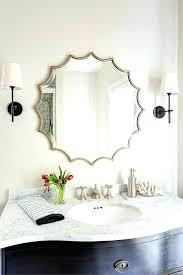 cottage bathroom mirror ideas. Interesting Bathroom Astonishing Colorful Bathroom Mirrors Oval Best  Mirror Ideas On Half Bath Remodel   On Cottage Bathroom Mirror Ideas