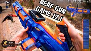 NERF GUN GAME 12.0 (Nerf First Person Shooter!) - YouTube