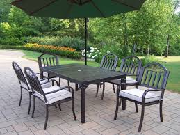 green wrought iron patio furniture. furniture black iron patio dining set with rectangle table and six chair using white upholstered green wrought l