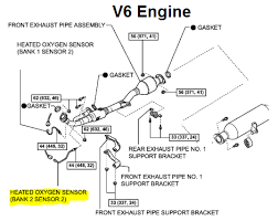 p toyota camry oxygen sensor circuit low voltage bank  need more help