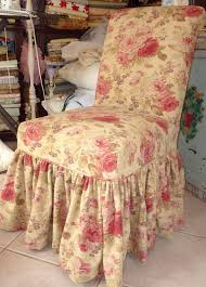 shabby chic slipcovers for loveseats cote by design with trish banner parsons chair ruffled slipcover