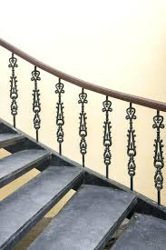 Metal railing stairs Deck Best Inventalainfo Interior Metal Railing Wrought Iron Stairs Staircase Luxury Banister